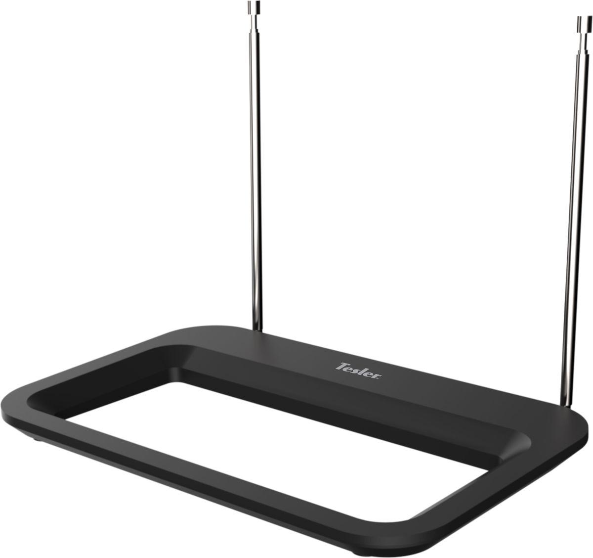 Tesler IDA-150 комнатная ТВ антенна (активная)IDA-150Данная модель представляет собой телевизионную комнатную антенну активного типа, оснащенную усилителем. С ее помощью вы сможете принимать телевизионные сигналы в аналоговом и цифровом форматах. Использование антенны возможно как в городских условиях, так и пригородных. Отличается стильным дизайном, поэтому служит гармоничным дополнением любого современного интерьера.