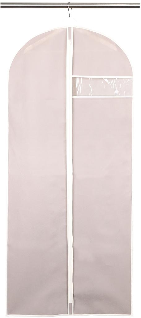 Чехол для одежды размером 60 х 135 см в классическом стиле поможет полноценно сберечь одежду, как в домашнем хранении, так и во время транспортировки. Благодаря специальному нетканому материалу, одежда будет недоступна для пыли, влаги, моли и не потеряет цвет, а прозрачное окно, выполненное из ПВХ, легко позволит определить, что находится внутри.