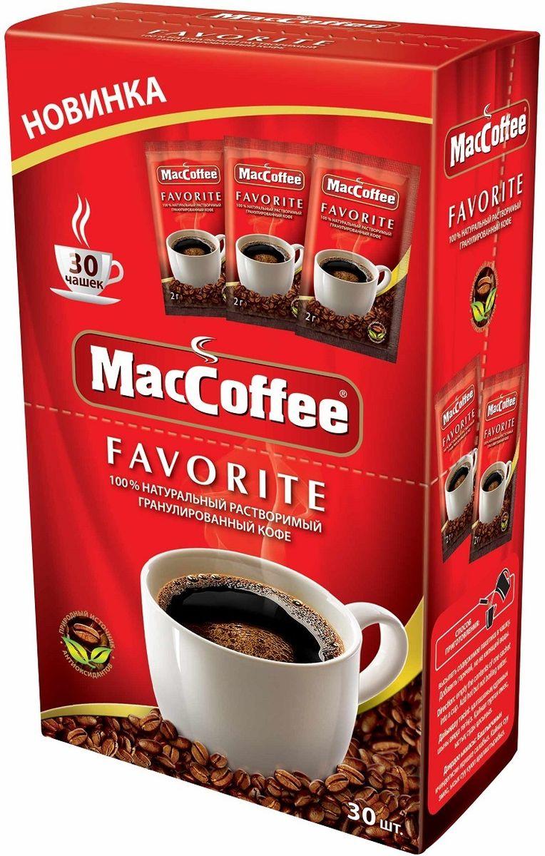 МасСoffee кофе растворимый, 30 шт