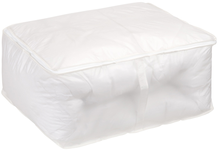 Кофр для хранения Handy Home, цвет: белый, 55 x 45 x 25 см кофр для хранения hausmann цвет салатовый белый 50 x 40 x 20 см
