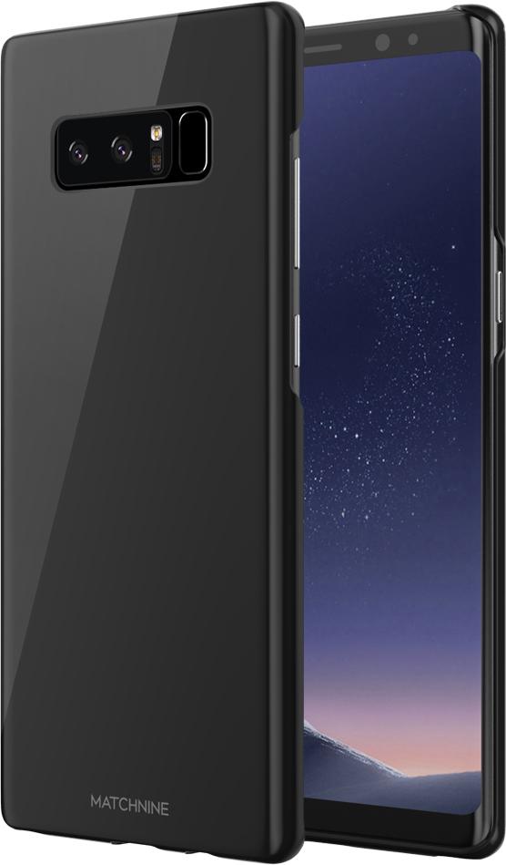 Matchnine Hori чехол для Samsung Galaxy Note 8, BlackENV013Чехол Matchnine Hori состоит из слоев эластичного полиуретана и жесткого пластика. Такая конструкция позволяет защитить Samsung Galaxy Note 8 от ударов и других воздействий, сохранив его превосходный внешний вид. Мягкая рамка помогает быстро надевать клип-кейс. Кроме того, она слегка выступает над экраном, не допуская его соприкосновения с твердыми поверхностями. Несмотря на отличные защитные свойства, чехол практически не увеличивает размеры устройства. С ним смартфон можно носить в кармане и в специальном отделении сумки. Чехол предоставляет доступ ко всем важным деталям мобильного девайса. В нем предусмотрены вырезы для камер, кнопок и разъемов.