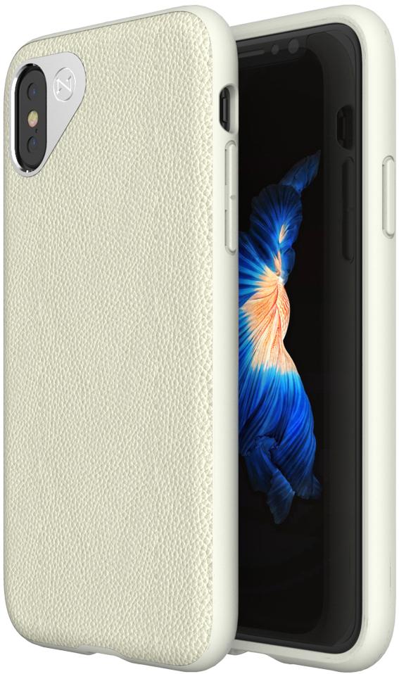 Matchnine Tailor чехол для iPhone X, TanENV039Чехол Matchnine Tailor - стильный аксессуар, обеспечивающий надежную защиту iPhone X от ударов и других воздействий. Его задняя панель изготовлена из жесткого поликарбоната, стилизованного под кожу, а бампер - из эластичного полиуретана. Кроме того, он украшен металлической накладкой, обрамляющей камеру.Мягкая рамка позволяет быстро надевать клип-кейс. Она слегка выступает над экраном, защищая его от контактов с твердыми поверхностями. Несмотря на отличные защитные свойства, чехол практически не увеличивает размеры устройства. С ним мобильный девайс можно носить в кармане или в специальном отделении сумки. Вырезы в клип-кейсе предоставляют доступ к важнейшим деталям смартфона, включая камеры, кнопки и разъемы.