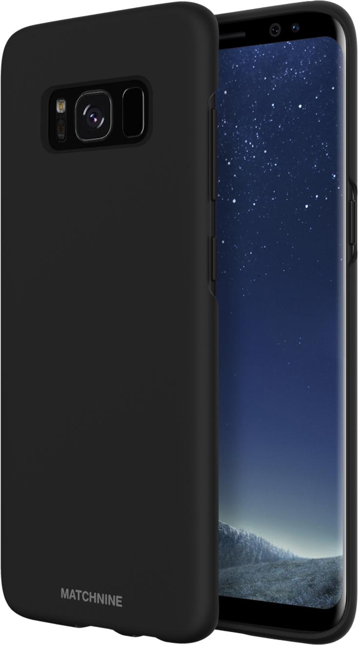 Matchnine Hori чехол для Samsung Galaxy S8 Plus, BlackENV050Чехол Matchnine Hori состоит из слоев эластичного полиуретана и жесткого пластика. Такая конструкция позволяет защитить Samsung Galaxy S8 Plus от ударов и других воздействий, сохранив его превосходный внешний вид. Мягкая рамка помогает быстро надевать клип-кейс. Кроме того, она слегка выступает над экраном, не допуская его соприкосновения с твердыми поверхностями. Несмотря на отличные защитные свойства, чехол практически не увеличивает размеры устройства. С ним смартфон можно носить в кармане и в специальном отделении сумки. Чехол предоставляет доступ ко всем важным деталям мобильного девайса. В нем предусмотрены вырезы для камер, кнопок и разъемов.