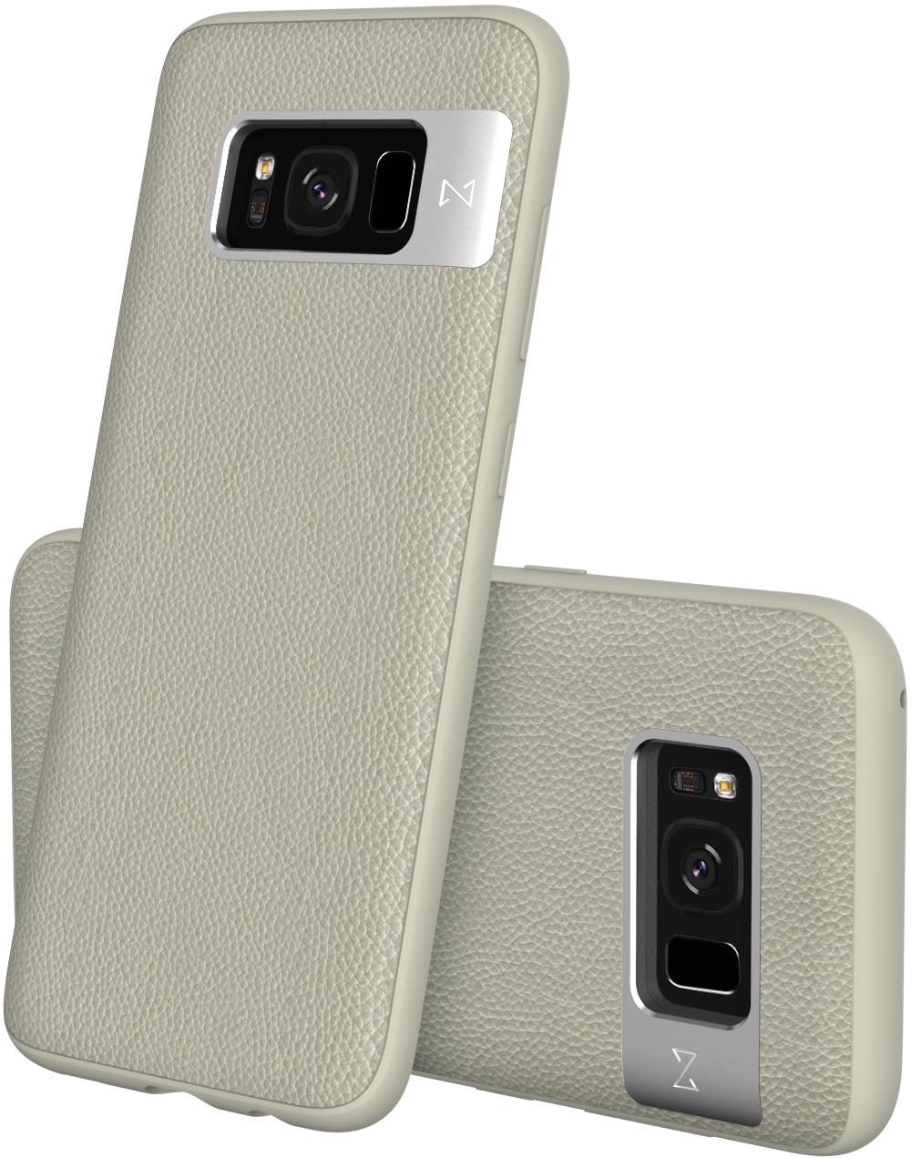 Matchnine Tailor чехол для Samsung Galaxy S8 Plus, TanENV059Чехол Matchnine Tailor - стильный аксессуар, обеспечивающий надежную защиту Samsung Galaxy S8 Plus от ударов и других воздействий. Его задняя панель изготовлена из жесткого поликарбоната, стилизованного под кожу, а бампер - из эластичного полиуретана. Кроме того, он украшен металлической накладкой, обрамляющей камеру.Мягкая рамка позволяет быстро надевать клип-кейс. Она слегка выступает над экраном, защищая его от контактов с твердыми поверхностями.Несмотря на отличные защитные свойства, чехол практически не увеличивает размеры устройства. С ним мобильный девайс можно носить в кармане или в специальном отделении сумки. Вырезы в клип-кейсе предоставляют доступ к важнейшим деталям смартфона, включая камеры, кнопки и разъемы.