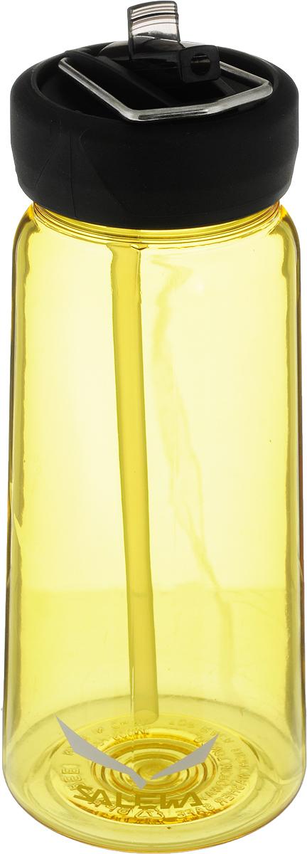 цена на Фляга Salewa Runner Bottle, цвет: желтый, 500 мл