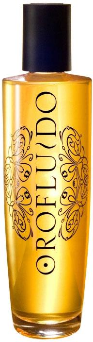 Orofluido Эликсир для волос 100 мл7220201000Эликсир для волос Orofluido имеет уникальный состав: в него входят натуральные компоненты, оказывающие благоприятное воздействие как на внешний вид волос, так и на их структуру. Эликсир содержит аргановое масло, делающее волосы шелковистыми и укрепляющее их. Еще один натуральный ингредиент льняное масло, придает локонам восхитительный блеск, гладкость. Благодаря маслу циперуса, волосы становятся мягкими, объемными и эластичными.