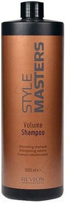 Revlon Professional Style Шампунь для объёма волос Masters Volume Shampoo 1000 мл7207626000Revlon Professiona Style Masters Volume Shampoo Шампунь для объёма волос создан специально для тщательного очищения волос, а также для придания волосам эффекта объёма. Уже после первого использования данного продукта от компании Ревлон волосы становятся сильными и объёмными, при этом не теряя интенсивность натурального цвета. Шампунь Revlon Профессионал Style Masters Volume обеспечивает правильное и полноценное питание волос, придаёт им гладкость и шелковистость, обладает восстанавливающими свойствами, защищает волосы от негативных воздействий окружающей среды, в том числе от вредных ультрафиолетовых лучей. При использовании данного шампуня устраняется проблема спутывания волос, при этом процесс расчёсывания становится комфортным и приятным. Шампунь Ревлон Professional Volume – прекрасное средство для ежедневного и полноценного ухода за волосами, а также для придания им великолепного эффекта объёма.