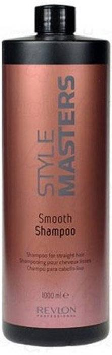 Revlon Professional Style Шампунь для гладкости волос Masters Smooth Shampoo 1000 мл revlon professional revlon professional мусс для придания объема style masters volume amplifier mousse 7207049000 300 мл