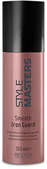 Revlon Professional SM Бальзам разглаживающий Smooth Iron Guard 150 мл7207047000Непослушные волосы укладывать непросто. Им сложнее, чем прямым, придать нужную форму. Но только не в том случае, если подготовить их к укладке с помощью разглаживающего бальзама Smooth Iron Guard из серии Style Masters компании Revlon Professional. Это средство разглаживает волосы и делает их послушными. После применения бальзама волосы становятся толще и объёмнее, без эффекта утяжеления. «Смуз Айрон Гард» кондиционирует волосы, укрепляет их и защищает, дарит гладкость причёске, благодаря чему та в течение всего дня остаётся безупречной даже при повышенной влажности.