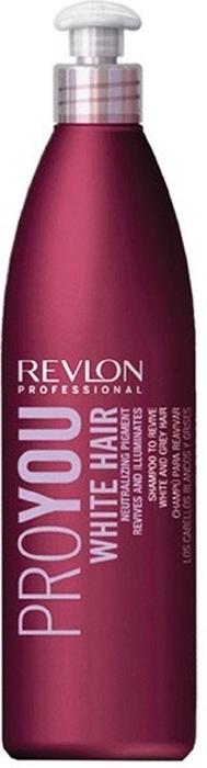 Revlon Professional Pro You Шампунь для блондированных волос White Hair Shampoo 350 мл7203151000Если Вы обладатель мелированных или седых волос, то средство Pro You White Hair – для Вас! В состав средства входит специальный пигмент, нейтрализующий желтые и серые оттенки волос, сохраняющий естественность и чистоту первоначального цвета. Волосы, наконец, возвращают себе эластичность и блеск, природную мягкость и богатую текстуру! Светлые пряди приобретают матовый отблеск, а седина действительно становится благородной! Не упустите свой шанс – воспользуйтесь шампунем Pro You White Hair уже сегодня!