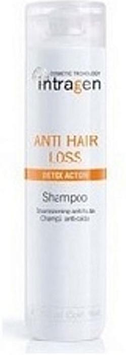 Revlon Professional Intragen Шампунь против выпадения волос AHL 250 мл7208807000Средство с сильным воздействием. Ваши волосы слабые и ломкие? На расческе каждый раз остаются внушительные объемы волос? Этот шампунь укрепит корни волос, напитает кожный покров головы. Минералы и витамины в составе лечебного комплекса глубоко питают волосы по всей длине, препятствуя их ломкости и выпадению. Продукт одинаково хорошо подходит как мужчинам, так и женщинам.