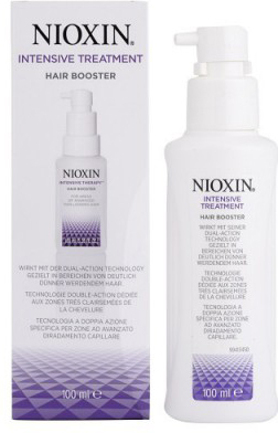 Nioxin Intensive Усилитель роста волос Therapy Hair Booster 100 мл сыворотка nioxin intensive therapy night density rescue