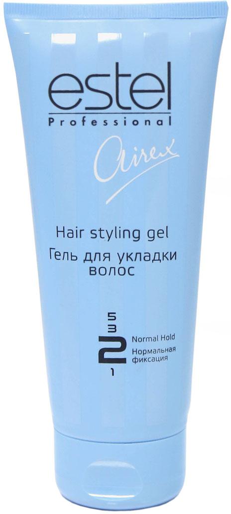 Estel Airex Гель для укладки волос нормальной фиксации 200 мл спрей гель для укладки волос wella design boost it супер сильная фиксация 150 мл
