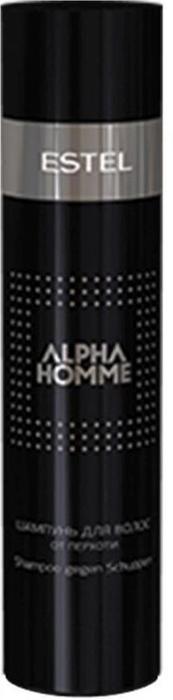 Estel Alpha Homme - Шампунь для волос от перхоти 250 млAH.2Проблемы волос: ПерхотьПобеждать каждый день – в спорте, на дороге, побеждать себя самого – прерогатива мужчины. В борьбе против перхоти самое надежное оружие – ALPHA HOMME ESTEL! Комплекс активных компонентов в составе продукта деликатно устранит перхоть, а при регулярном использовании позволит забыть о ней навсегда. Результат: Аллантоин – регенерирует кожу головы Пироктон оламин – оказывает бактерицидное действие Цинк пиритион – оказывает фунгицидный эффект. Способ использования: нанесите на влажные волосы, вспеньте, смойте, при необходимости повторить. Подходит для ежедневного применения.