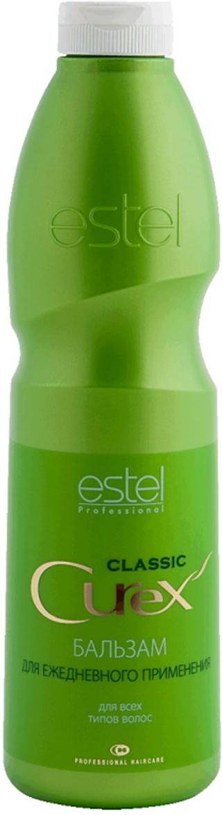 Estel Curex Classiс Бальзам Увлажнение и Питание для ежедневного применения 1000 млCU1000/B10Estel Curex Classic Бальзам «Увлажнение и Питание» обеспечивает интенсивное увлажнение и уход за волосами. Пантенол, витамин Е и масло авокадо питают и восстанавливают структуру волос, делают их мягкими, шелковистыми и блестящими. Хорошо кондиционирует волосы. Результат: легкость расчесывания, мягкость, шелковистость и блеск волос. Уважаемые клиенты! Обращаем ваше внимание на возможные изменения в дизайне упаковки. Качественные характеристики товара остаются неизменными. Поставка осуществляется в зависимости от наличия на складе.