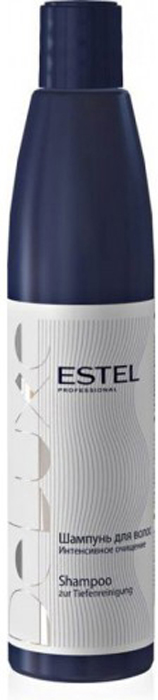Estel Curex De Luxe Шампунь интенсивное очищение 1000 млDL1000/S16Estel Curex De Luxe Шампунь интенсивное очищение интенсивно очищает волосы от загрязнений, эффективно удаляет продукты стайлинга. Оптимально подготавливает волосы для дальнейшей работы. Способствует выравниванию структуры волос, придает им эластичность. Обладает кондиционирующими свойствами.