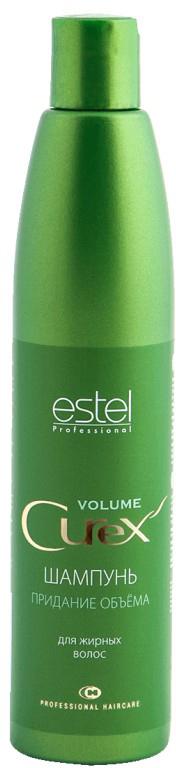 Estel Curex Volume Шампунь для придания объема для жирных волос 300 млCU300/S2Шампунь для придания объема Estel Curex Volume для жирных волос cодержит лецитин и провитамин В5, придает волосам гибкость и эластичность. Результат: Придание объема Питание и увлажнение Мягкое очищение.