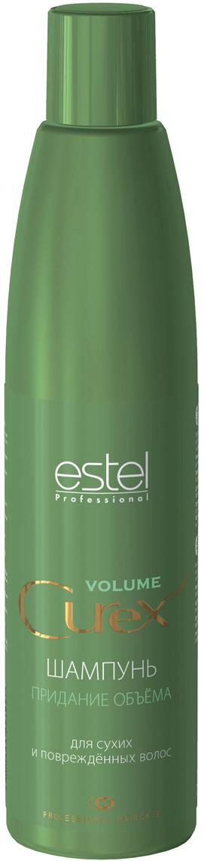 Estel Curex Volume Шампунь для придания объема для сухих и поврежденных волос 300 мл