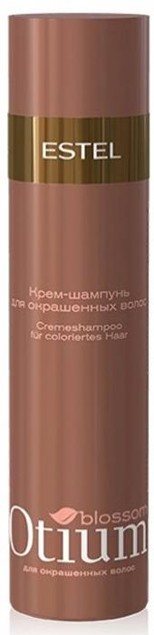 Estel Otium Blossom Деликатный шампунь для окрашенных волос 250 млOT.83Estel Otium Blossom Деликатный шампунь для окрашенных волос. Мягкая формула шампуня с инновационным комплексом Blossom Cаre Color и протеинами шёлка нежно очищает окрашенные волосы, подчёркивает богатство цвета. Наполняет волосы зеркальным блеском, придаёт им мягкость бархата. Идеален в сочетании с Блеск - бальзамом Otium Blossom для окрашенных волос. Для ежедневного применения.