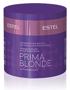 Estel Prima Blonde - Серебристая маска для холодных оттенков блонд 300 мл