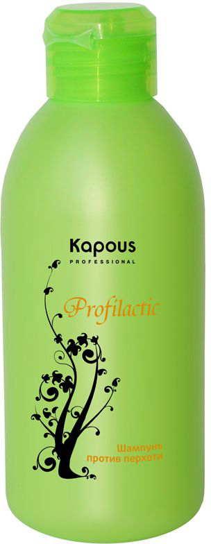 Kapous Profilactic Шампунь против перхоти 250 млKap217Очищающий шампунь Profilactic Kapous от перхоти с легкой текстурой и приятным ароматом яблока является мощным профилактическим средством против перхоти и себореи различной этиологии. Благодаря Пиритионату цинка, который обладает выраженными и длительными антимикотическими, антибактериальными и противовоспалительными свойствами имеет высокую проникающую способность, что позволяет добиться максимального эффекта. Терпеноиды, содержащиеся в масле чайного дерева, обладают противогрибковым действием, которое эффективно устраняет зуд, успокаивая и восстанавливая баланс кожи головы. Применение шампуня повышает устойчивость волос к внешним агрессивным факторам окружающей среды. Волосы становятся сильными, гладкими, здоровыми и легко поддаются укладке.