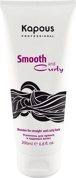 Kapous Усилитель для прямых и кудрявых волос Smooth and Curly 200 млKap567Усилитель Amplifier из серии Smooth and Curly от Капус – это универсальный стайлингово-защитный продукт, позволяющий моделировать удивительно упругие завитки или дарить прядям потрясающую гладкость. Усилитель подходит для укладки волос любого типа и гарантирует им: полную защиту от негатива высоких температур; аккуратный вид на протяжении дня; дополнительные уход и увлажнение; глубокое кондиционирование и смягчение. Состав Amplifier обогащен натуральными маслами, улучшающими качество локонов, и растительными аминокислотами, укрепляющими волосы изнутри. За счет нежной консистенции средство легко наносится, не перегружает пряди, а также не забирает их природной пышности. С ним локоны отлично держат форму и не теряют структурности, а гладкие пряди – не пушатся и не завиваются даже при высокой влажности.