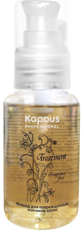 Kapous Treatment Флюид для поврежденных кончиков волос 60 мл goldwell маска интенсивная 60 секунд для сухих и поврежденных волос goldwell dualsenses rich repair 60 sес treatment 200 мл
