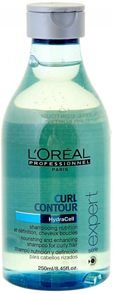 LOreal Professionnel Шампунь для четкости контура завитка для вьющихся волос Expert Curl Contour - 250 млE0351301Шампунь Керл Контур, предназначенный для вьющихся волос, поможет придать контуру завитка чёткость. Продукт является инновационной разработкой, он подходит для сбалансированного и интенсивного ухода за непослушными волосами. В состав шампуня входит керамид bio-memetic, который укрепляет структуру волос, увлажняет их. Кроме того, при создании средства были задействованы такие ингредиенты, как экстракт виноградной косточки, который славится своими питательными свойствами, и УФ-фильтры, обеспечивающие волосам защиту от выгорания и воздействия ультрафиолета. При регулярном применении устраняется сухость и ломкость волос, они становятся послушными.