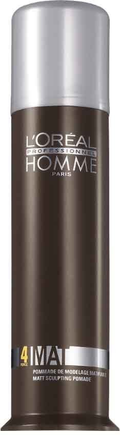 LOreal Professionnel Homme - Матирующая крем-паста для укладки волос 80 млE0242784Матирующая крем-паста LP Homme разработана для укладки мужских волос. Она разделяет и матирует пряди и придает прическе фиксацию средней степени. Благодаря особой текстуре паста почти незаметна на волосах как визуально, так и на ощупь: волосы выглядят чистыми и естественными. Как и другие продукты линии LP Homme, крем-паста обладает элегантным мужским ароматом, что дарит удовольствие при ее применении. Средство не образовывает глянцевого блеска на волосах и не делает их жесткими.