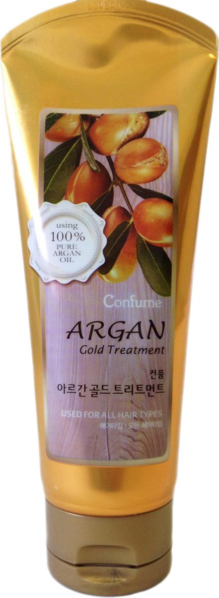 Confume Argan Маска для волос с аргановым маслом серии GOLD, 200 мл8803348014256Использование маски предупреждает спутывание и ломкость сильно поврежденных волос,а входящий в состав растительный белок делает их мягкими и послушными.Обогащенная маслами кокоса и оливы маска помогает сделать волосы сильными и здоровыми, одновременно восстанавливая и укрепляя.Благодаря входящим в состав золотым частицам маска способствуют здоровому блеску и сиянию волос, укрепляя ихвходящий в состав растительный белок делает их мягкими и послушными.Обогащенная маслами кокоса и оливы маска помогает сделать волосы сильными и здоровыми, одновременно восстанавливая и укрепляя.Благодаря входящим в состав золотым частицам маска способствуют здоровому блеску и сиянию волос, укрепляя их