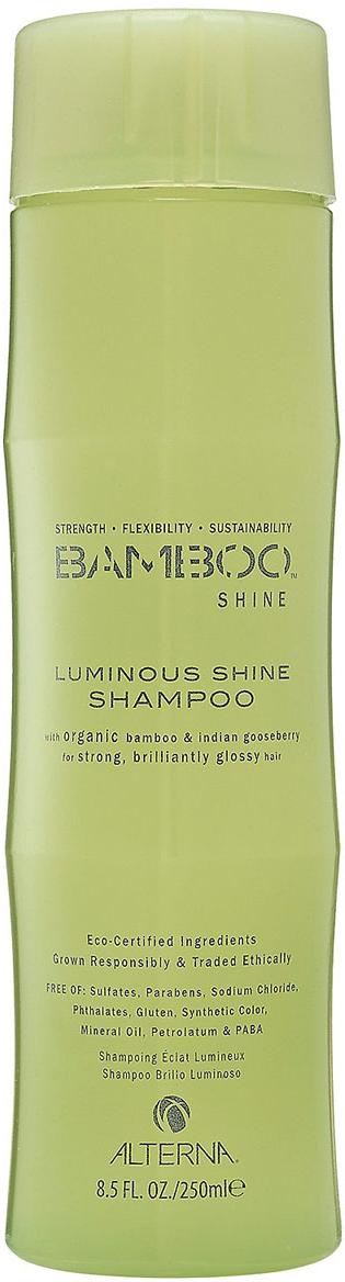 Alterna Шампунь для сияния и блеска волос (бессульфатный) Bamboo Luminous Shine Shampoo - 250 мл alterna лак сильной фиксации caviar anti aging extra hold hair spray 400ml