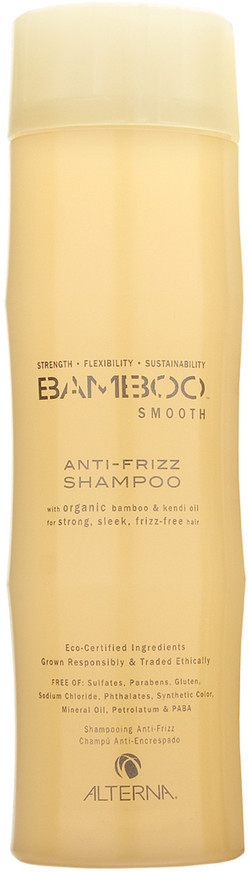 Alterna Полирующий шампунь Bamboo Smooth Anti-Frizz Shampoo - 250 мл alterna масло для волос bamboo smooth kendi pure treatment 50ml