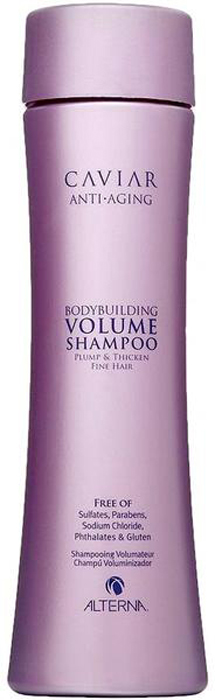 Alterna Шампунь для объема c морским шелком Caviar Anti-Aging Bodybuilding Volume Shampoo - 250 мл alterna увлажняющий шампунь c морским шелком caviar anti aging replenishing moisture shampoo 40 мл