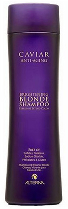 Alterna Шампунь c морским шелком для cветлых волос Caviar Anti-Aging Seasilk Blonde Shampoo - 250 мл alterna эликсир быстрый рост волос caviar repair rx lengthening hair and scalp elixir 50 мл