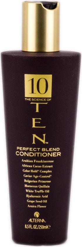 Alterna Кондиционер Совершенная формула Luxury Ten The Science of Ten Conditioner - 250 мл48559В кондиционере Alterna 10 The Science of Ten Conditioner объединяются 10 активных ингредиентов: экстракт черный икры активно питает волосы, придает им силу, масло белых трюфелей восстанавливает структуру волос, цветок арники защищает волосы от внешнего воздействия и предотвращает потерю влаги. Пусть ослабленные волосы вновь станут сильными и здоровыми! Кондиционер Alterna 10 The Science of Ten Conditioner, восстанавливает структуру волос от корней до кончиков. Результат: После регулярного применения кондиционера вы увидите и почувствуете разницу: волосы становятся более сильными, гладкими, сияющими, здоровыми, послушными.