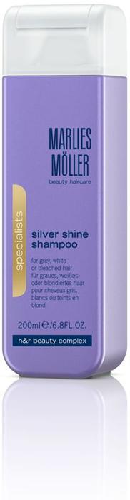 Marlies Moller Specialist Шампунь для блондинок против желтизны волос, 200 мл шампунь 4г marlies moller шампунь 4г
