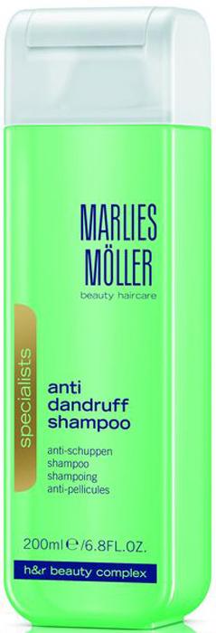 Marlies Moller Specialist Шампунь против перхоти, 200 мл эликсир успокаивающий 50 мл marlies moller эликсир успокаивающий 50 мл