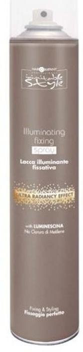 Hair Company Фиксирующий лак, придающий блеск Professional Inimitable Style Illuminating Fixing Spray 500 мл hair company inimitable style