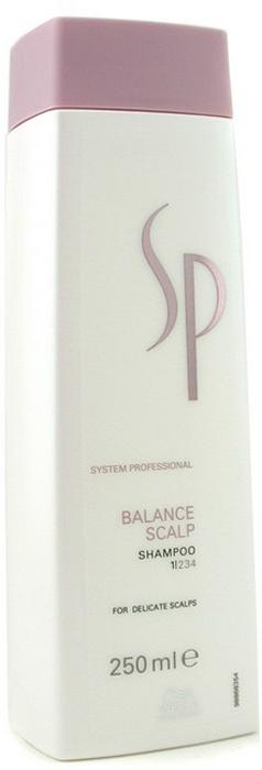 Wella SP Шампунь для чувствительной кожи головы Balance Scalp Shampoo, 250 мл wella sp помпа для clear scalp shampoo 1 л