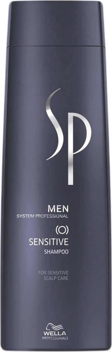 цены Wella SP Шампунь для чувствительной кожи головы Men Sensitive Shampoo, 250 мл