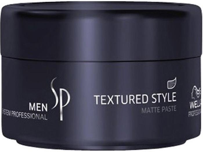 Wella SP Паста для укладки с матовым эффектом Men Textured Style, 75 мл textured shearling sweatshirt