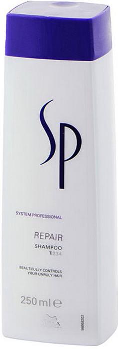 Wella SP Восстанавливающий шампунь Repair Shampoo, 250 мл81387559Восстанавливающий шампунь Wella SP Repair Shampoo улучшает структуру волос и придает им силу и блеск. Благодаря уникальной формуле RNP, разработанной специалистами Велла, средство насыщает волосы питательными веществами, проникая глубоко внутрь волоса.