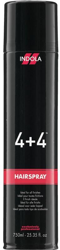 Indola Лак для волос сильной фиксации 4+4 Hairspray Strong 500 мл