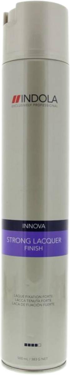 Indola Лак для волос сильной фиксации Innova Finish Strong Laquer - 500 мл лак indola professional finish strong spray
