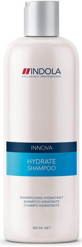 Indola Увлажняющий шампунь Hydrate Shampoo 300 мл1635609/154269СТИКIndola Увлажняющий шампунь. Мягко очищает, увлажняет и разглаживает волосы, делая их эластичными иблестящими. Содержит экстракт бамбукового молочка, масло сладкого миндаля и провитамин В5. Сохраняетестественную влагу в составе волос и дополнительно увлажняет. Подходит для вьющихся волос. Рекомендуетсяиспользовать в комплексе с кондиционером Indola Hydrate.