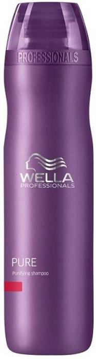Wella Очищающий шампунь Balance PURE, 250 мл116118Очищающий шампунь серии Wella Balance Line подходит для кожи головы, которая требует особого ухода. За счет особой формулы средство способно справиться с такой проблемой, как спутанность прядей, оно обладает прекрасным увлажняющим эффектом, разглаживает волосы, очищает их и защищает в течение долгого времени от загрязнения. Пряди в итоге хорошо расчесываются, становятся мягкими.Кроме того, при использовании данного шампуня волосы становятся очень послушными, потому процесс укладки окажется очень простым и приятным.