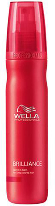 Wella Brilliance Line Бальзам несмываемый для окрашенных длинных волос 150 мл лосьон wella professionals perfect me eimi 100 мл