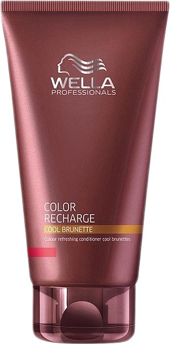 Wella Бальзам для освежения цвета Color Recharge холодных коричневых оттенков, 200 мл252724Бальзам для освежения цвета холодных коричневых оттенков Color Recharge поможет вашим волосам выглядеть яркими и насыщенными. Состав средства обогащен целым комплексом активых ингредиентов, которые интенсивно питают волосы, делая их мягкими и блестящими. Специальные цветовые пигменты в составе бальзама помогают цвету оставаться насыщенным.