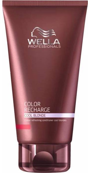 Wella Бальзам для освежения цвета Color Recharge холодных светлых оттенков, 200 мл250720Бальзам для освежения цвета холодных светлых оттенков Color Recharge поможет вашим волосам выглядеть яркими и насыщенными. Состав средства обогащен целым комплексом активых ингредиентов, которые интенсивно питают волосы, делая их мягкими и блестящими. Специальные цветовые пигменты в составе бальзама помогают цвету оставаться насыщенным.