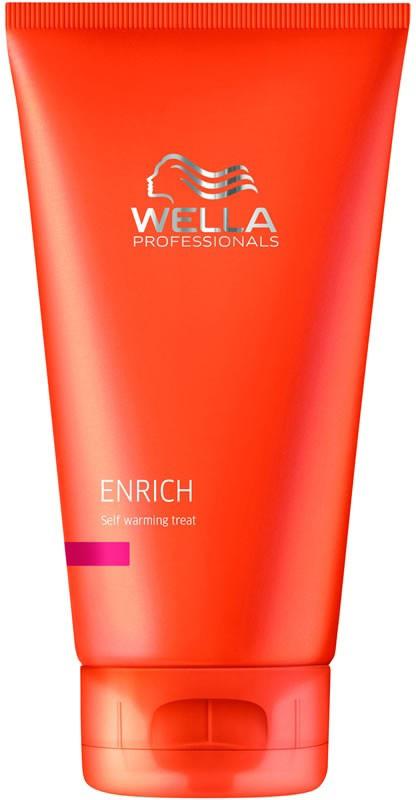 Wella Самонагревающая питательная маска Enrich Line, 150 мл115845Для волос любой структуры и любого типа отлично подходит самонагревающаяся питательная маска от Wella. Она предназначена для увлажнения волос, а также для разглаживания поверхности волоса. Маска, благодаря своей высокой биологической активности, положительно сказывается на работе волосяных фолликул, восстанавливает поврежденные волосы, смягчает их и замедляет процесс их старения.Ваши локоны в результате приобретают блеск, они становятся мягкими. Кроме того, после применения Wella Enrich Line волосы легче расчесываются.